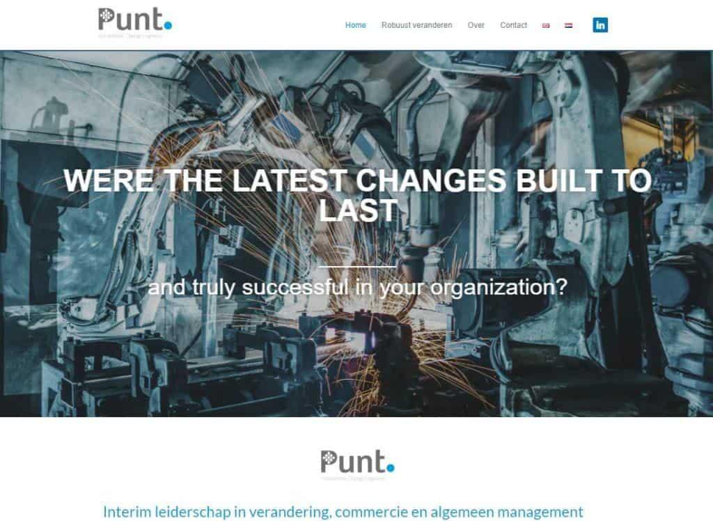 Puntice vgwdesign webdesigncreenshot