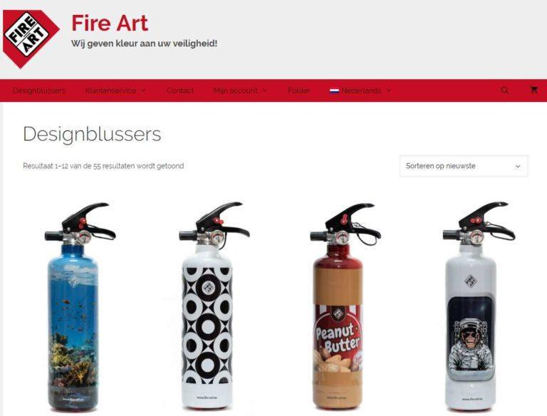 fire art brandblussers vgwdesign webdesign