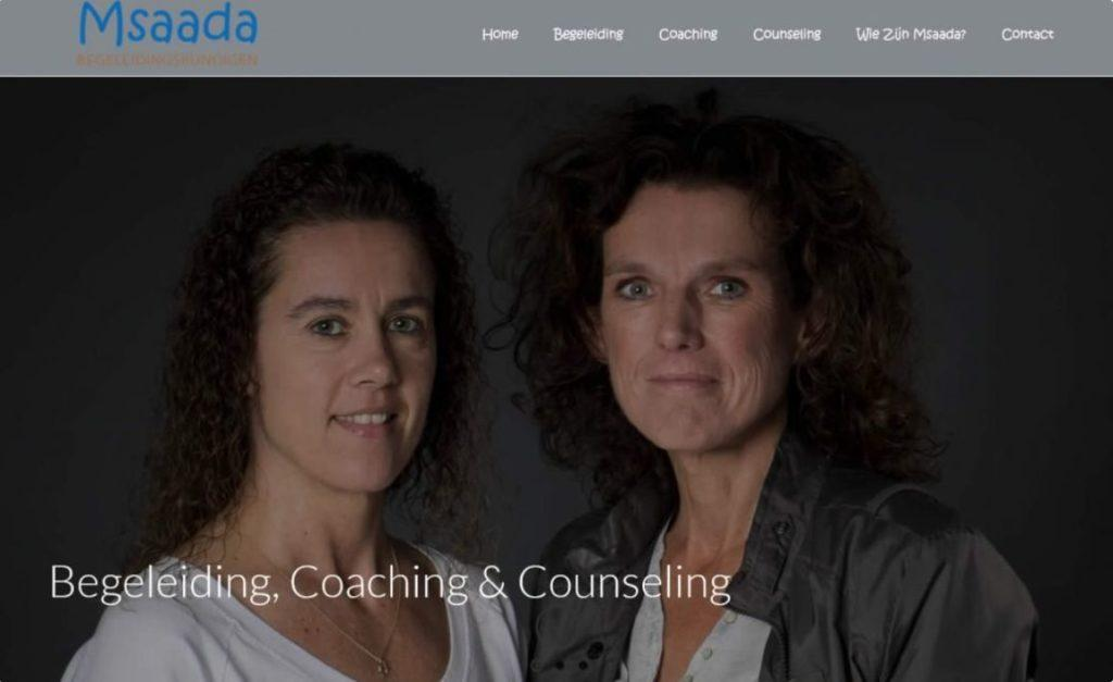 msaada begeleiding coaching en counseling website door vgwdesign