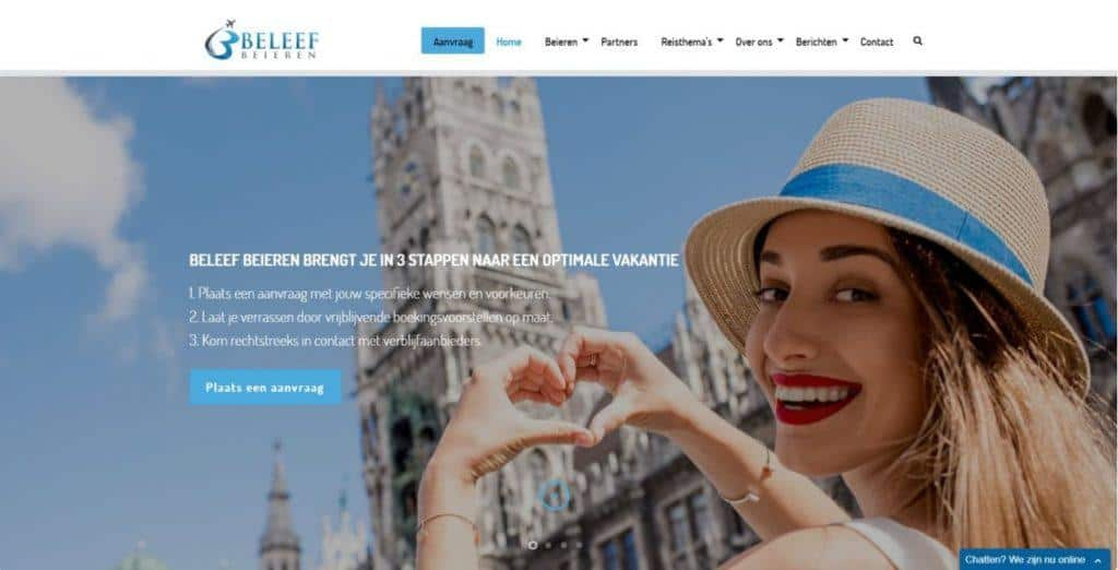website beleef beieren door vgwdesign