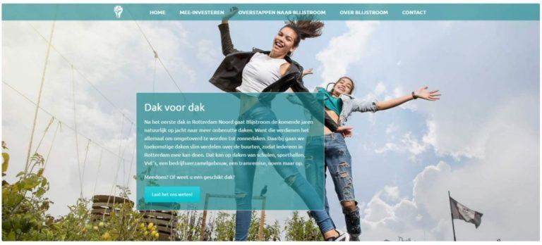 blijstroom website door vgwdesign